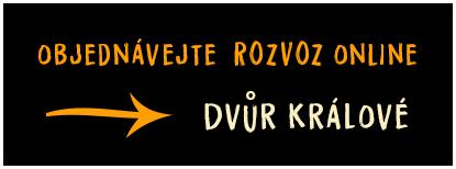 Rozvoz ve Dvoře Králové a okolí objednávejte on-line