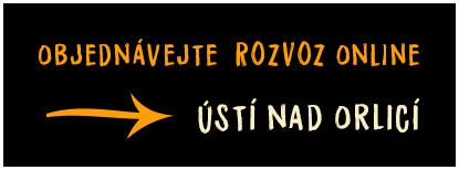 Rozvoz v Ústí nad Orlicí a okolí objednávejte on-line